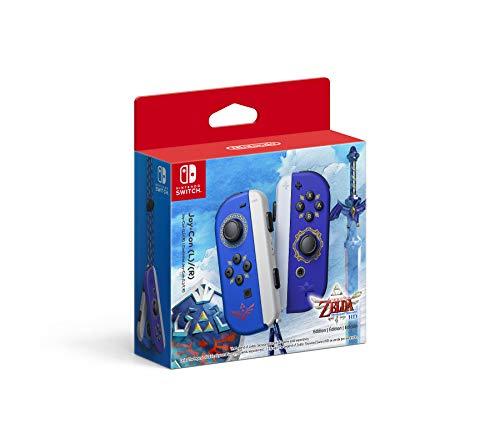 Amazon: Nintendo Joy-Con (L)/(R) - The Legend of Zelda: Skyward Sword HD Edition Azul Special Nintendo Switch