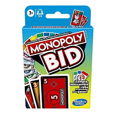 Amazon Juego de Cartas Monopoly Bid