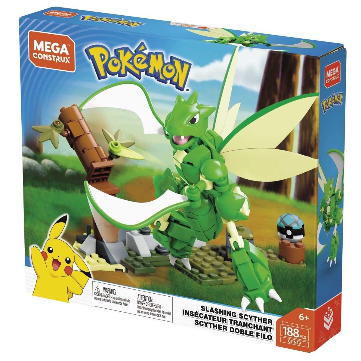 Sears: Mega Construx Pokemon Scyther Doble Filo Mattel