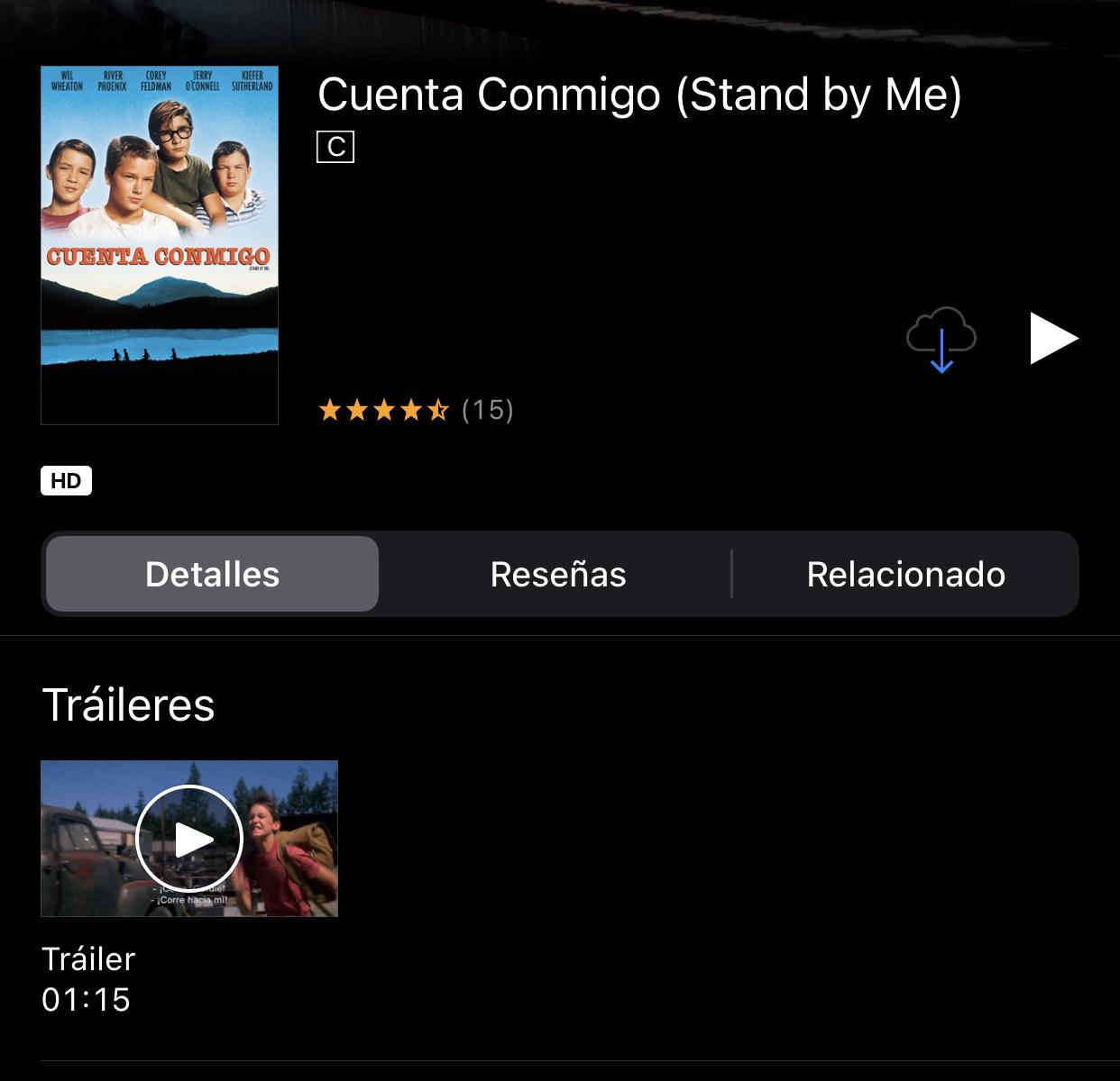 iTunes: Cuenta Conmigo