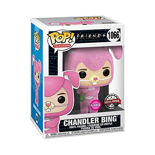 Amazon Funko Pop Chandler Bing 1066 Flocked (Exclusivo) Friends