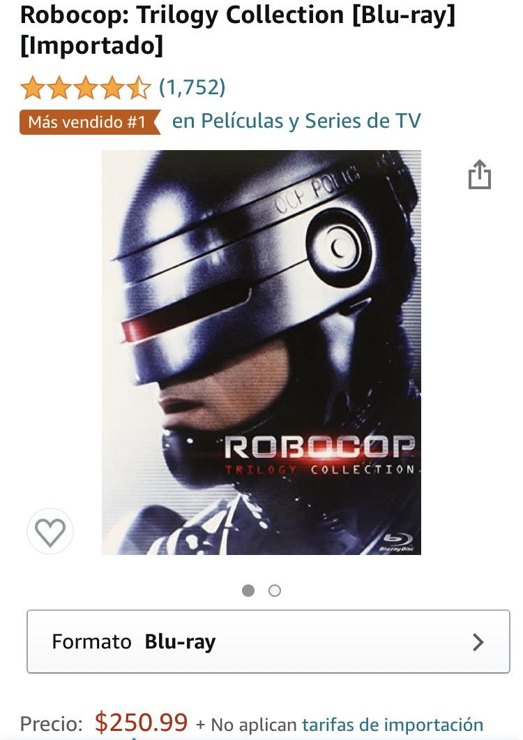 Amazon: Robocop: Trilogy Collection [Blu-ray]