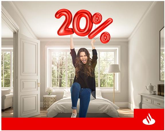 Santander: Bonificación 20% con TDC Digital + hasta 12 MSI en compras acumuladas