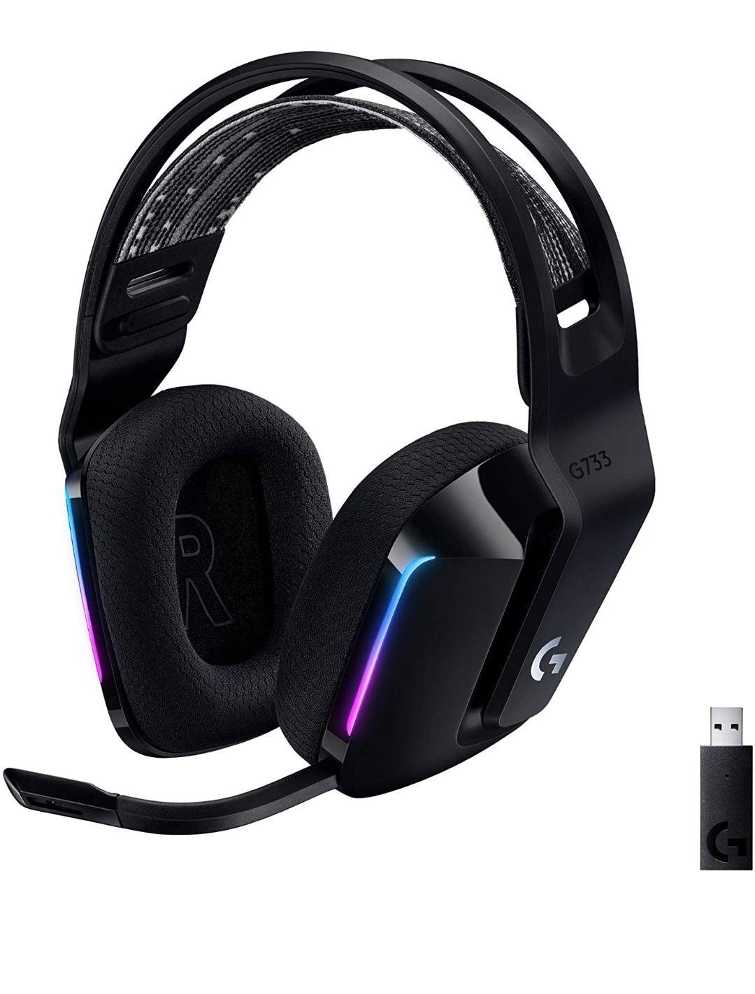 Amazon: headset Logitech G733 Lightspeed