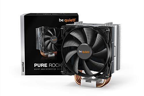 Amazon: Be quiet! Pure Rock 2, BK006, 150W TDP, enfriador de CPU, aluminio cepillado, tecnología HDT