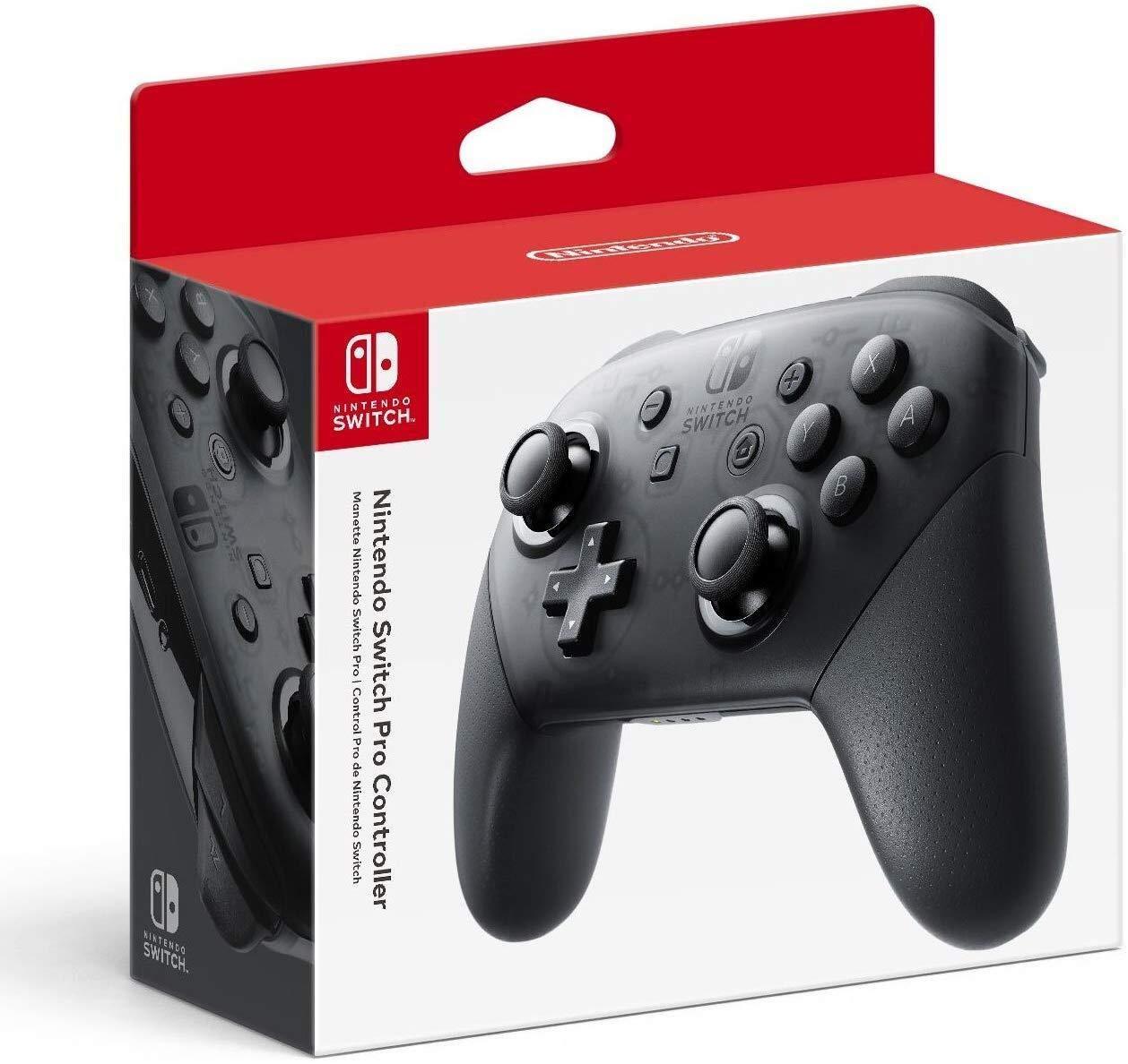 Amazon: Nintendo Switch Pro Controller Original / Grey Edition