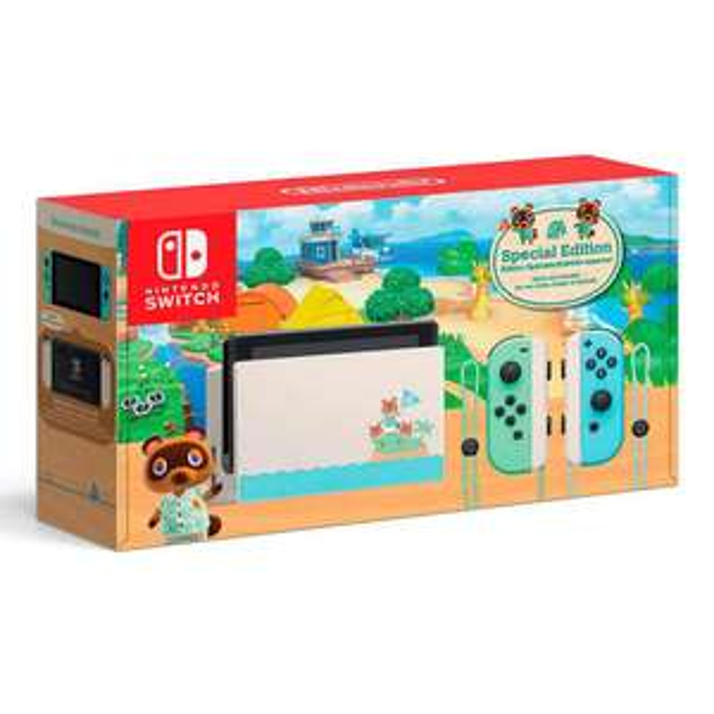 Elektra: Consola Nintendo Switch Animal Crossing