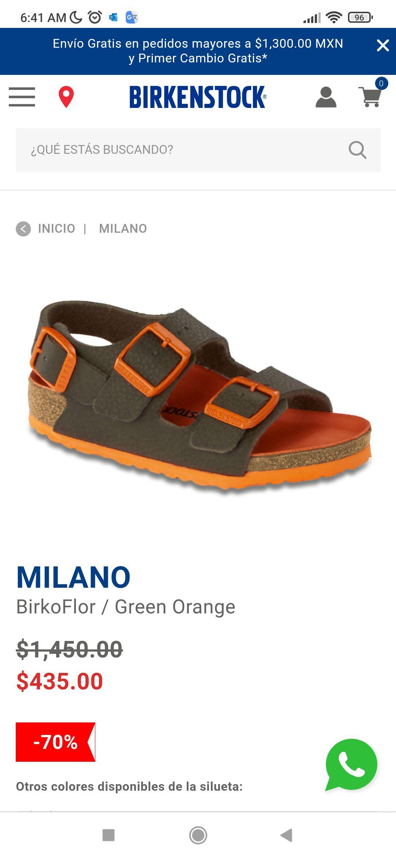 Birkenstock: sandalias para niños talla 19