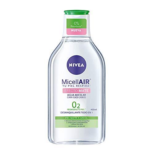 Amazon Agua micelar Nivea efecto mate, 400 ml