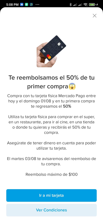 50% Off Mercado Pago (Usuarios Seleccionados)