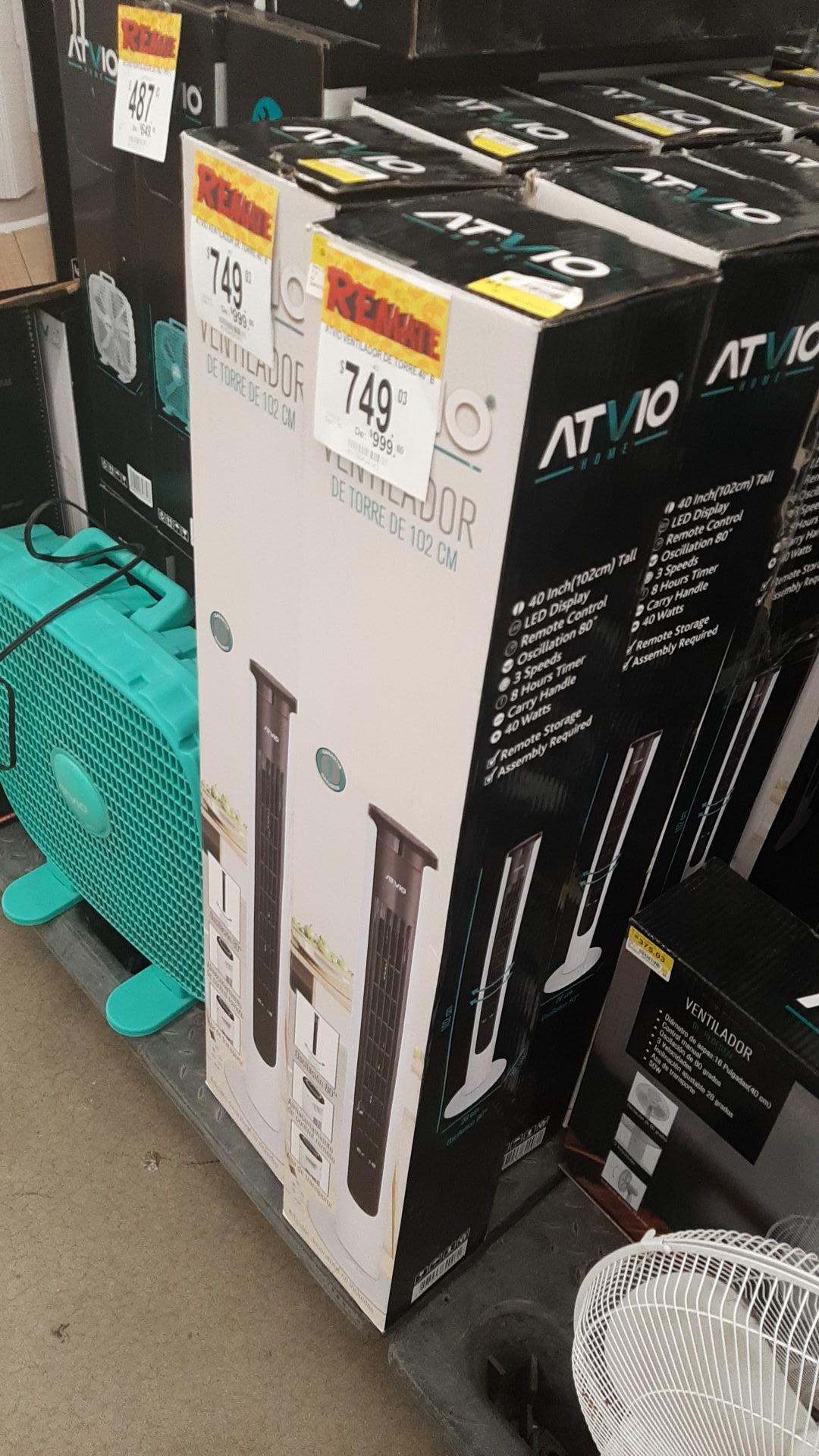 Bodega Aurrera: ventilador atvio de torre