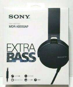 La comer: Audifonos Sony MDR-XB550AP