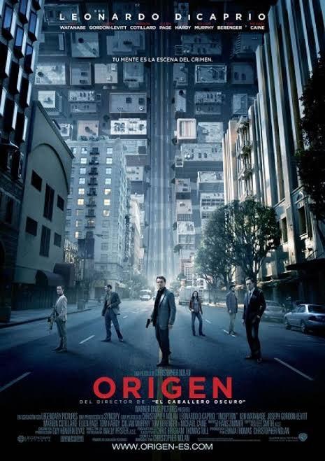 iTunes, El origen(Inception) / una de las mejores películas de Christopher Nolan 4K DOLBY VISION