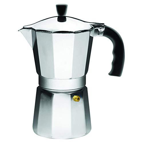 Amazon: IMUSA Cafetera de espresso para estufa, Plateado, 6 Tazas, 1
