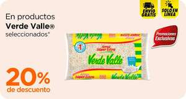 Chedraui: 20% de descuento en productos Verde Valle seleccionados