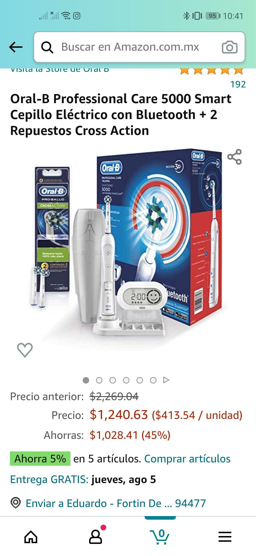 Amazon: Oral B Professional Care 5000