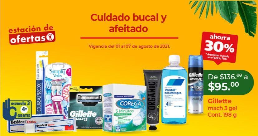 Farmacias San Pablo: 30% de descuento en cuidado bucal y afeitado