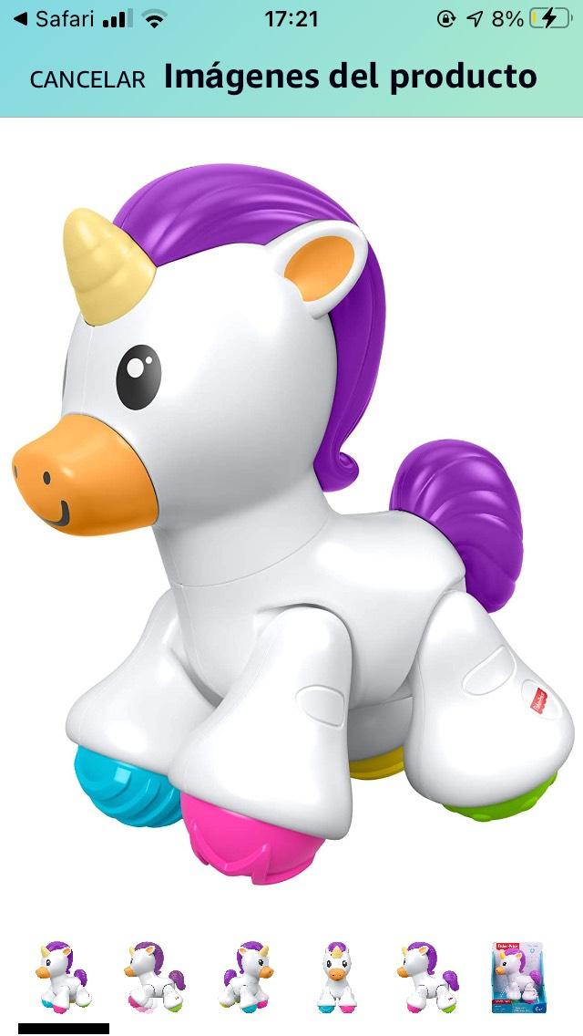 Amazon: unicornio de juguete fisher price