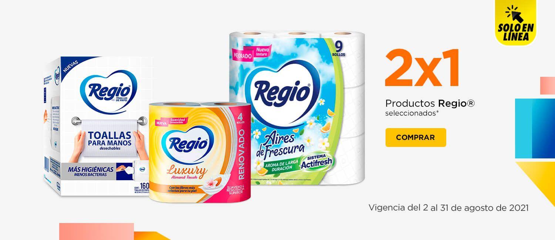 Chedraui: 2 x 1 en productos Regio seleccionados