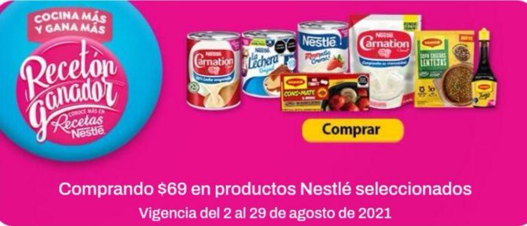 Chedraui: Envío gratis de tu súper en la compra mínima de $69 en productos Nestlé seleccionados