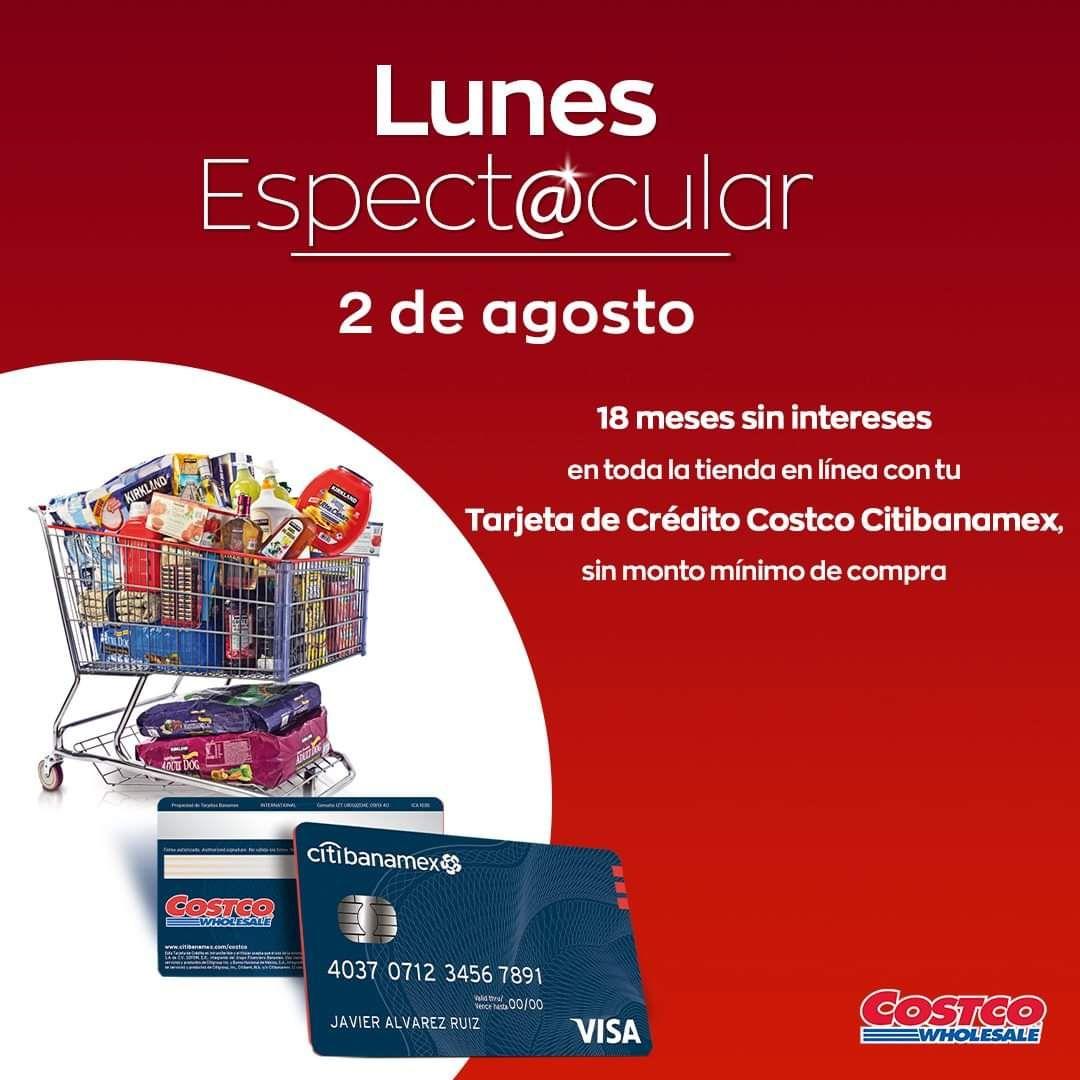 Costco: 18 MSI sin mínimo de compra con tarjetas Citibanamex
