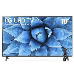 "Sanborns: TV LG UHD Pantalla 70"" + audífonos LG tone free"