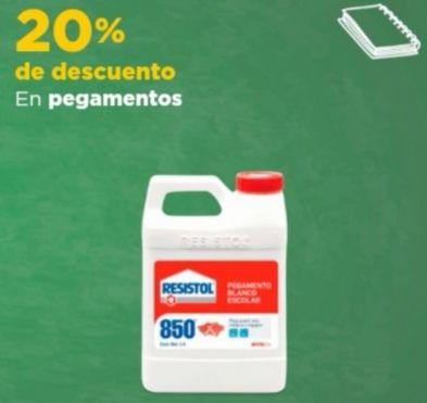 Chedraui: 20% de descuento en Pegamentos de las marcas Ceys, Kola Loka, Resistol seleccionados