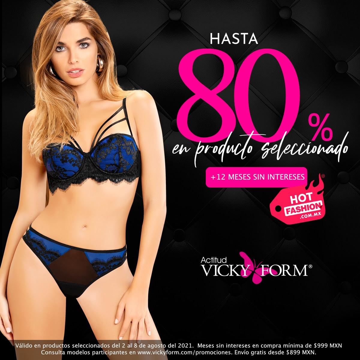 Vicky Form Hasta 80% de descuento + $100 de descuento + 12 MSI
