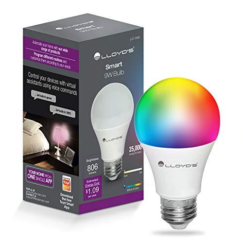 Amazon: Foco Inteligente WiFi, Multicolor + Luz Blanca Fría y Cálida