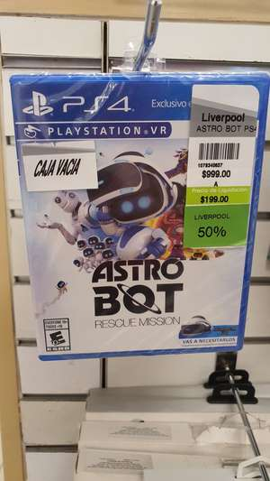 Liverpool: Astro Bot VR PS4