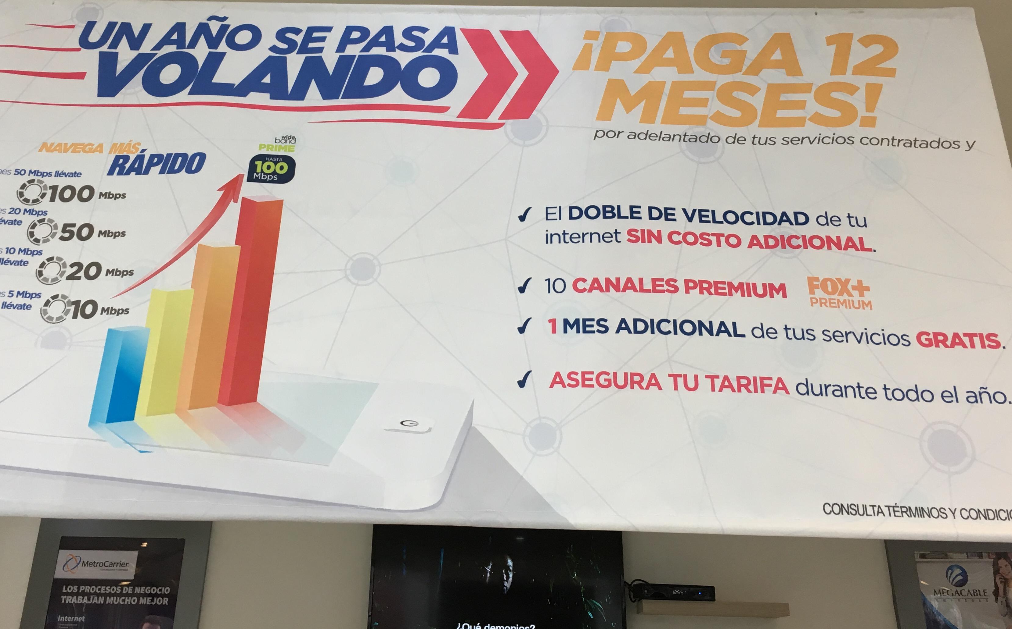 Megacable: Pago Anual