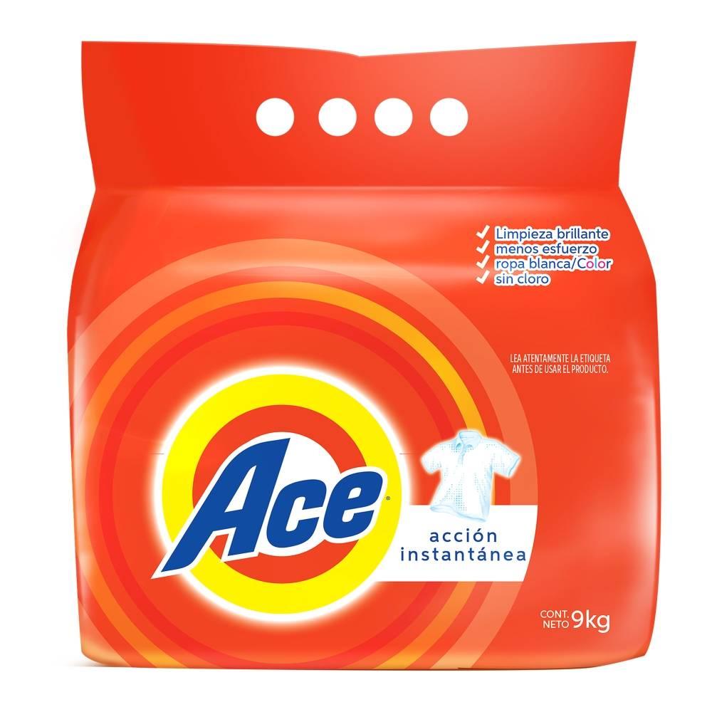 Sam's Club: Detergente ACE de 9kg a $149 ($16.40 el kilo)