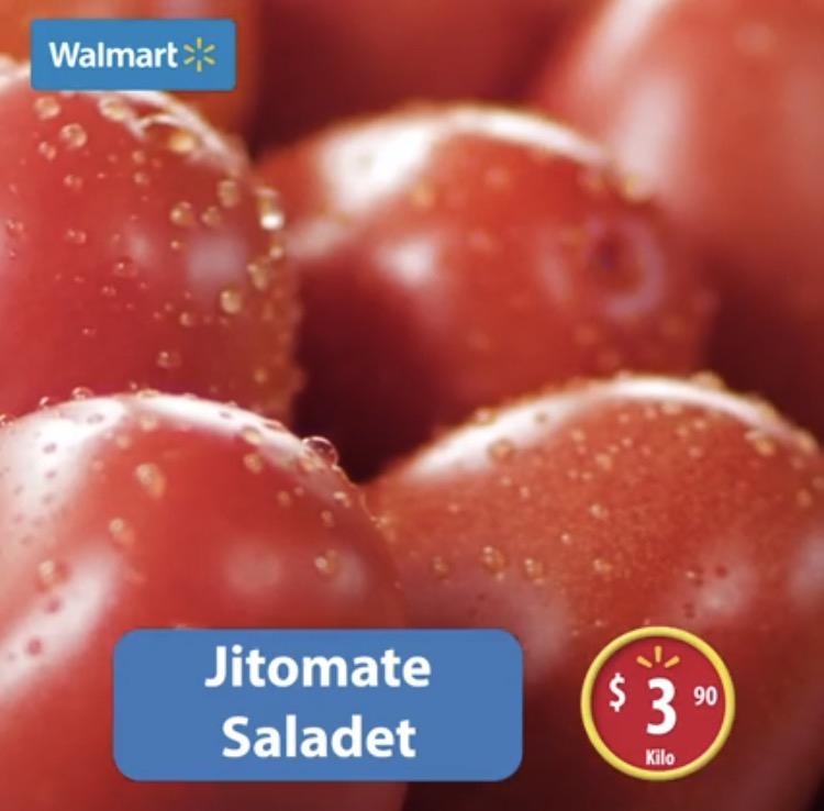 Martes de frescura en Walmart: Jitomate Saladet a $3.90 el kilo y más