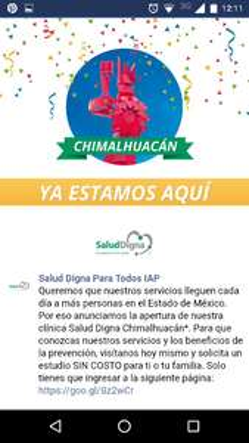 Salud Digna chimalhuacan: estudios de laboratorio GRATIS